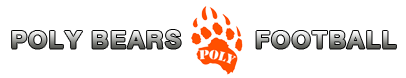 Poly Bears Football Logo